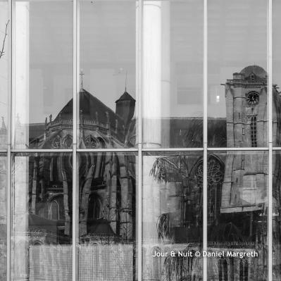 Reflet de la Cathédrale.